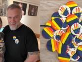 Regenbogen in het straatbeeld tegen homohaat, ook gemeente hangt vlaggen halfstok na dood van David