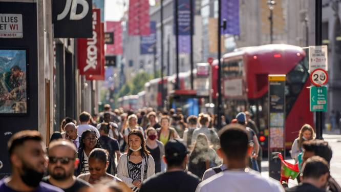 Aantal dagelijkse coronabesmettingen in Verenigd Koninkrijk blijft stijgen