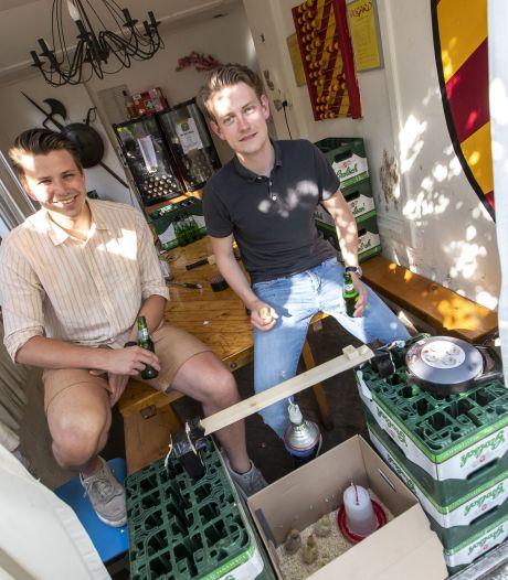 In dit Enschedese studentenhuis is het bier nooit op dankzij app Streep'n