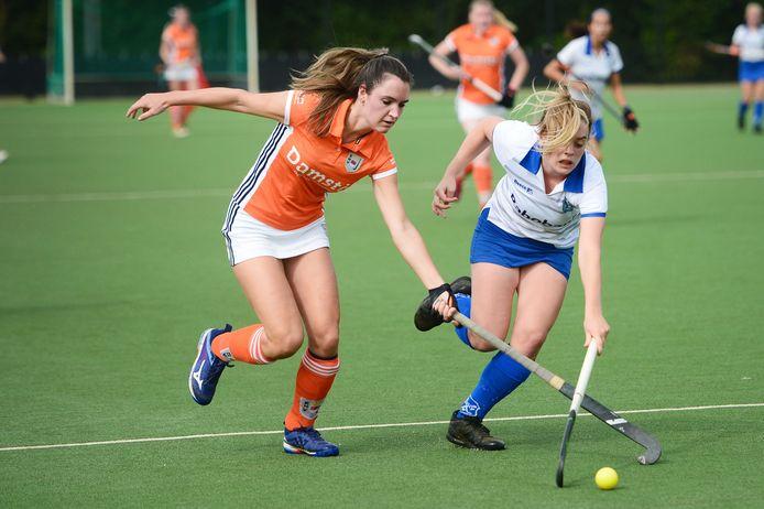 De vrouwen van EHV (oranje) speelden met 1-1 gelijk tegen Apeliotes. Bully (wit) won met 0-1 van Phoenix.