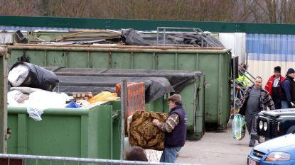 Containerpark dicht door staking
