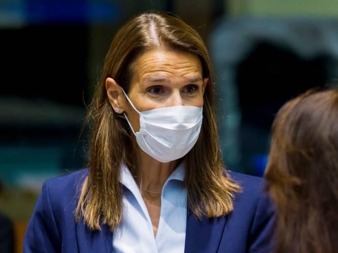 """Sophie Wilmès op intensieve zorg: """"Gewone kamer is nog niet aan de orde, laat staan het ziekenhuis verlaten"""""""
