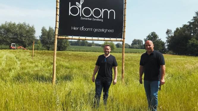 """Zomerbar Bloom opent op 8 juli aan Zandberg: """"Lekker chillen tussen de bloemen"""""""