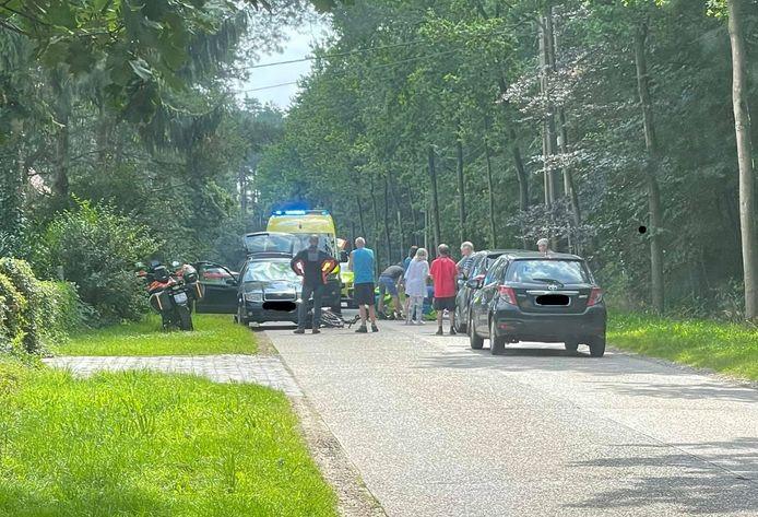 Het ongeval met een fietser gebeurde donderdagmiddag aan Proosthoevebaan in Vorselaar
