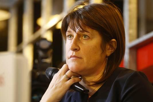 Jacqueline Galant, ex-ministre fédérale de la Mobilité et actuelle bourgmestre de Jurbise
