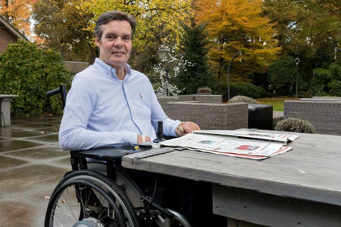 Jacques Willaarts die als gevolg van een aanrijding in Ammerzoden een dwarslaesie opliep. Hij voert strijd tegen verzekeraar Nationale Nederlanden.
