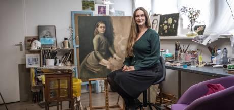 Net lekker bezig en nu is Renske uit Hengelo met een portret van haar moeder al in de running voor een prestigieuze prijs