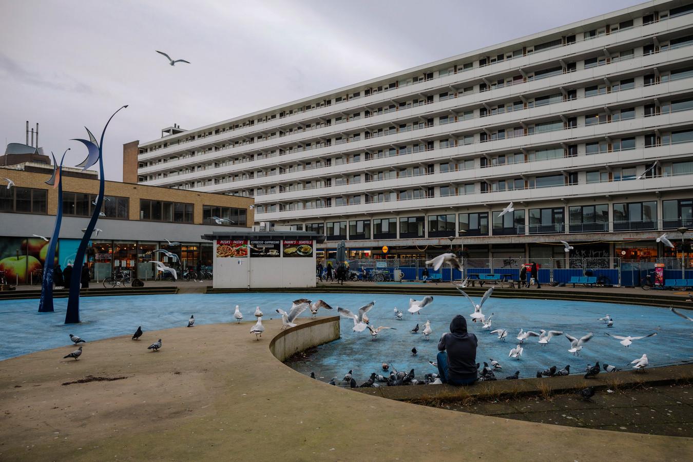 Het Delflandplein.
