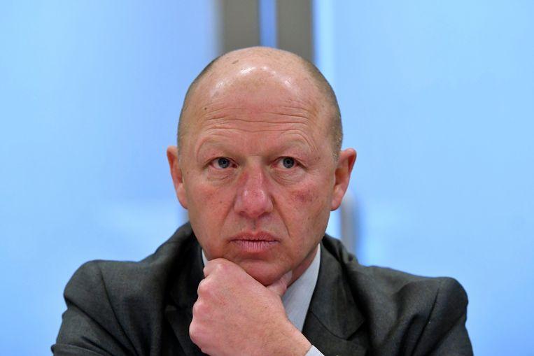 Hans Bonte, burgemeester van Vilvoorde. Beeld Photo News
