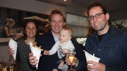 Frietjes en frikandellen voor het nieuwe jaar in Wortegem-Petegem