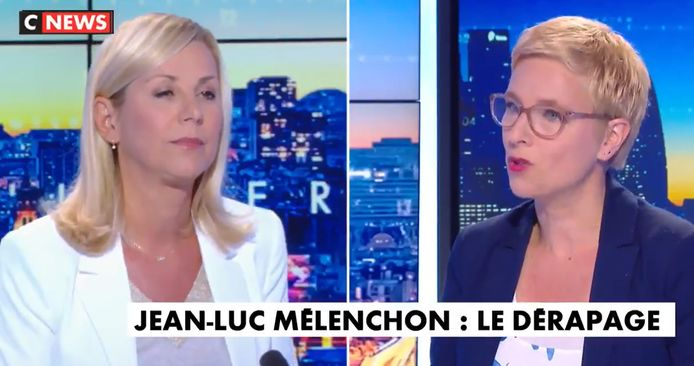 Laurence Ferrari et Clémentine Autain