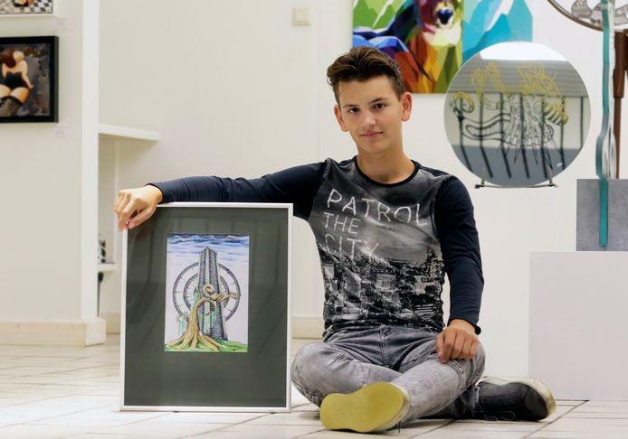 Wies Hoogers , illustrator en winnaar van de Cultuurprijs Halderberge.
