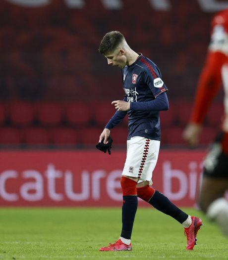 Drie duels schorsing voor Twente-speler Ilic na opstootje met Van Ginkel