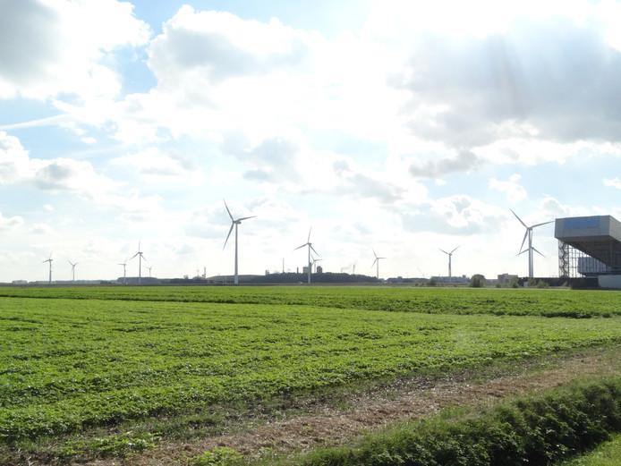 Windpark Koegorspolder bij Terneuzen