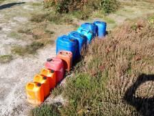 Drugsdumping in Wintelre blijkt onderdeel bootcamp: specialisten van politie rukken voor niets uit