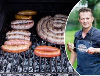 Hoe bak je worsten het best op de barbecue? Topslager Hendrik Dierendonck geeft advies en tipt hoe je ze thuis zelf maakt