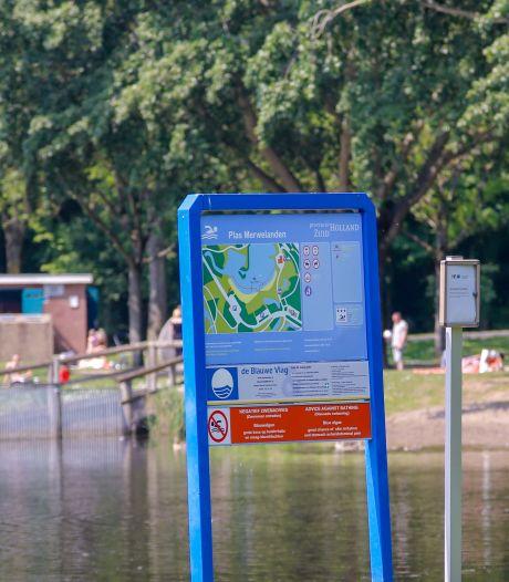 Negatief zwemadvies voor De Merwelanden