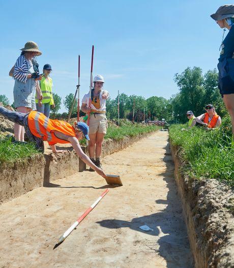 Leidse archeologiestudenten doen interessante vondsten in Oss