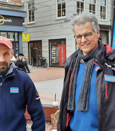 Op pad in de stad met (ex-)daklozen in een app