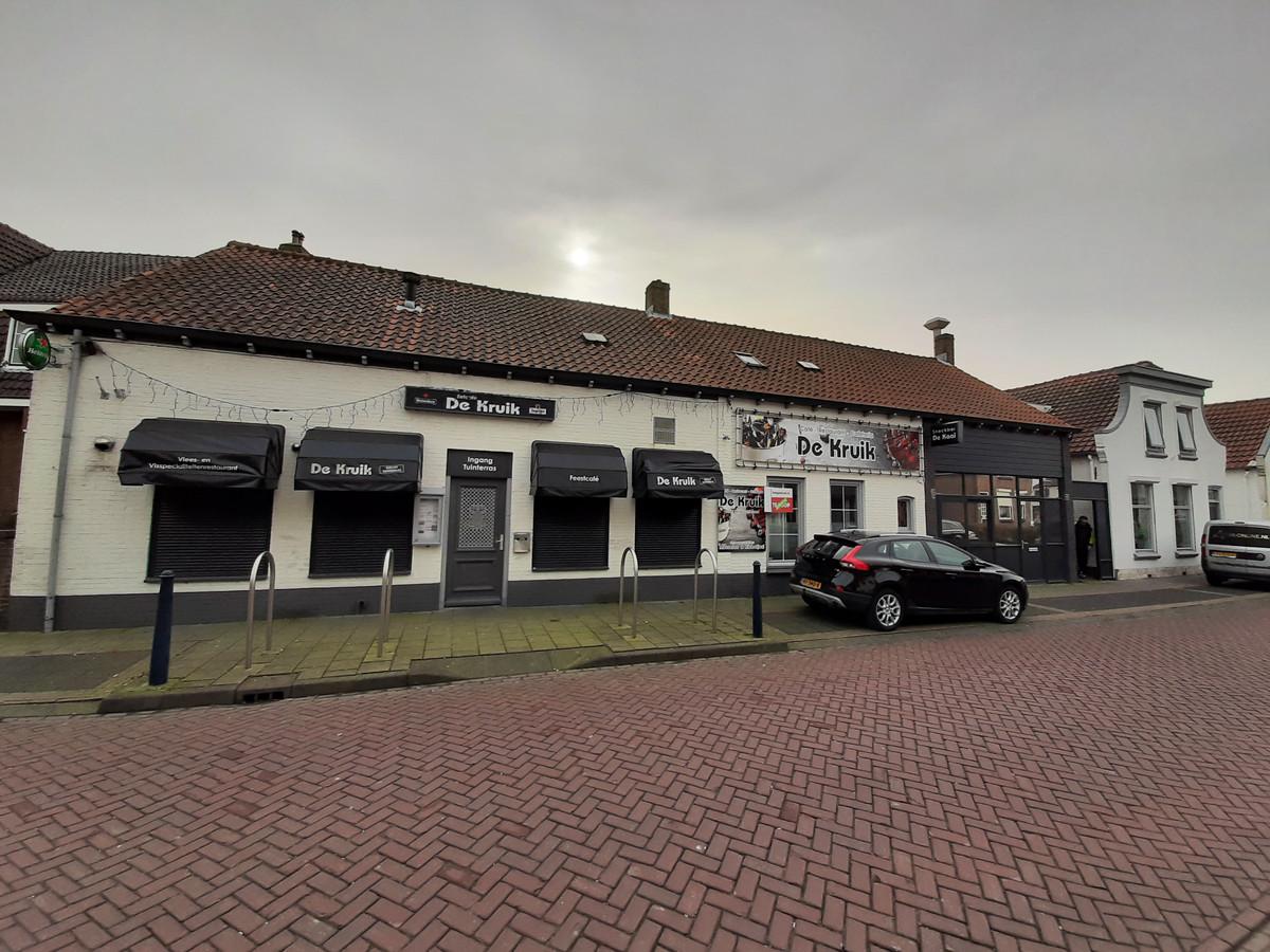 Café De Kruik is al enkele maanden gesloten.