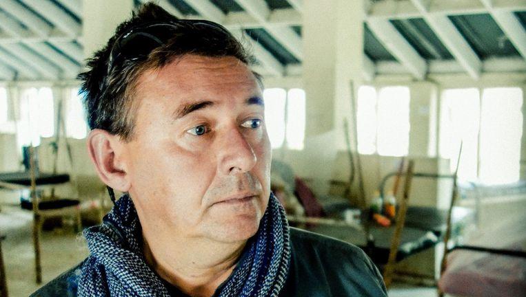 VRT-correspondent Rudi Vranckx. Beeld VRT