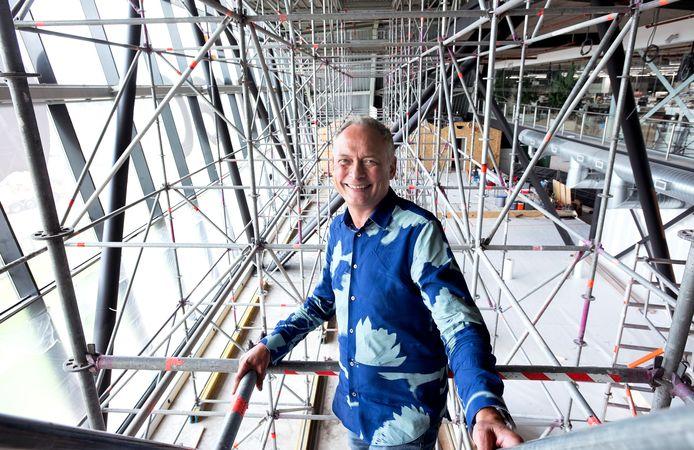 Amac-eigenaar Ed Bindels bouwt een restaurant in de kop van The Wall: 'Je wilt niet je pak naar de stomerij hoeven brengen na één etentje.'