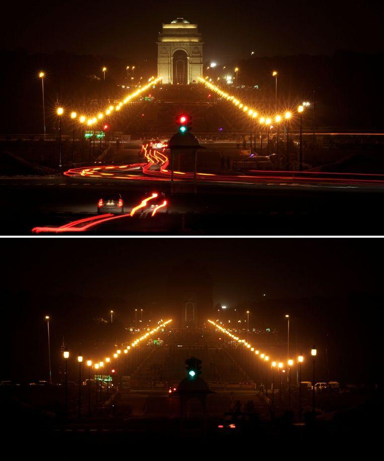 De poort van India in New Dehli. Beeld ap