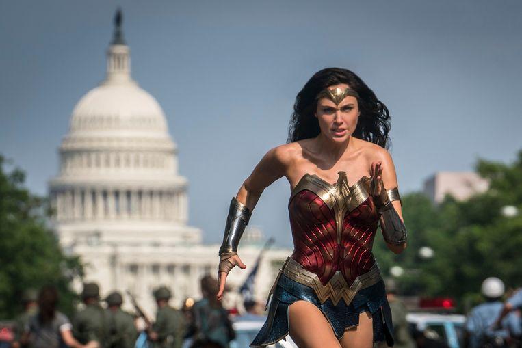 Gal Gadot in 'Wonder Woman 1984'. Beeld Photo News