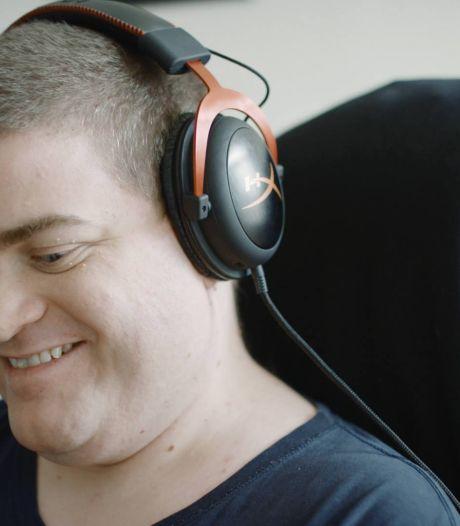 Sven is blind, maar gamet op hoog niveau: 'Blij dat er aandacht is voor gehandicapte gamers'