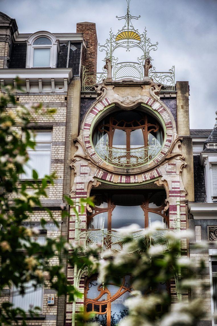 Huis Saint-Cyr van Horta-leerling Gustave Strauven. Beeld Tim Dirven