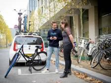 Fietspaden in Eindhoven kleuren in rap tempo Delfts blauw