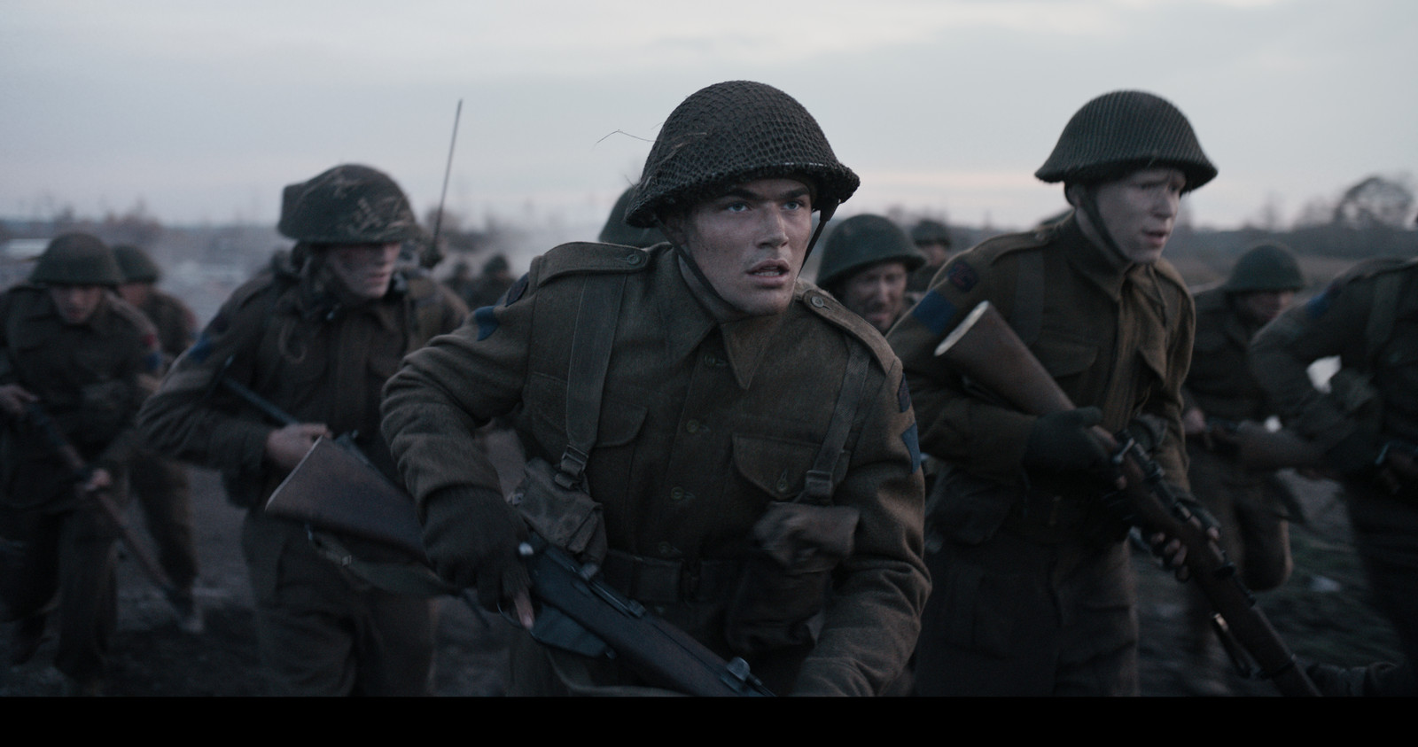 Een scene uit de film De Slag Om De Schelde.