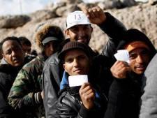 Lampedusa weer overspoeld met migranten