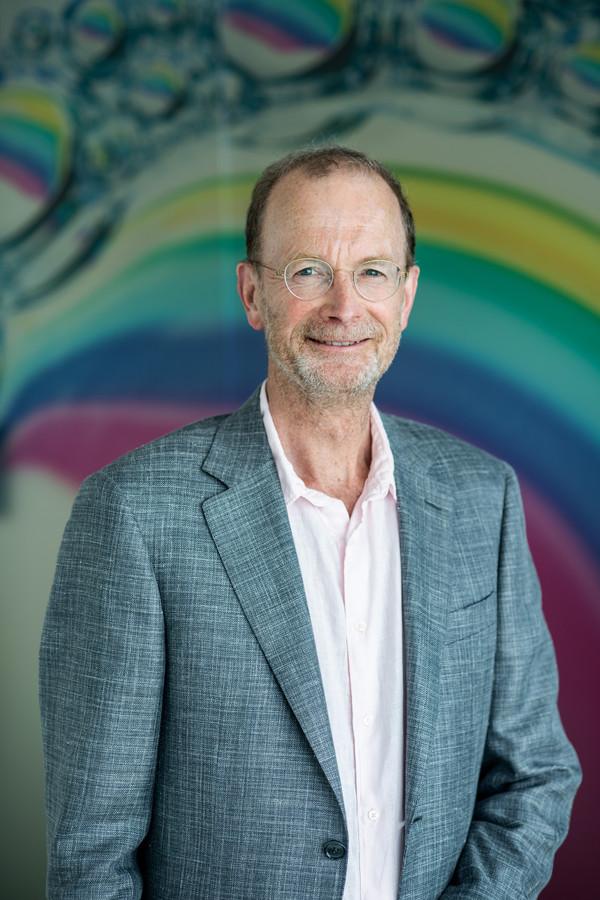 Rikus Wolbers, scheidend directeur van de Novio Tech Campus.
