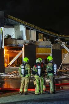 Bedrijfspand ingestort na explosie