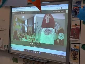 Sint brengt bezoek aan school via digitale weg