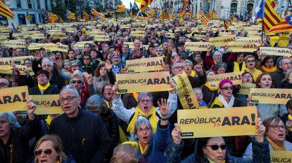 Tienduizenden Catalanen de straat op voor onafhankelijkheid