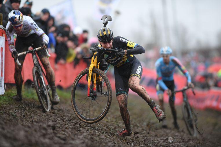Toon Aerts pakte zijn eerste Belgische titel in Kruibeke.