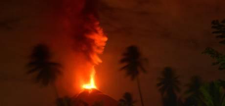 Vulkaan Soputan barst uit op Indonesisch eiland Sulawesi
