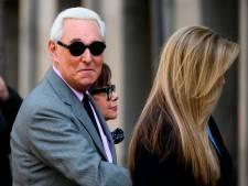 Trump scheldt straf vertrouweling Roger Stone kwijt