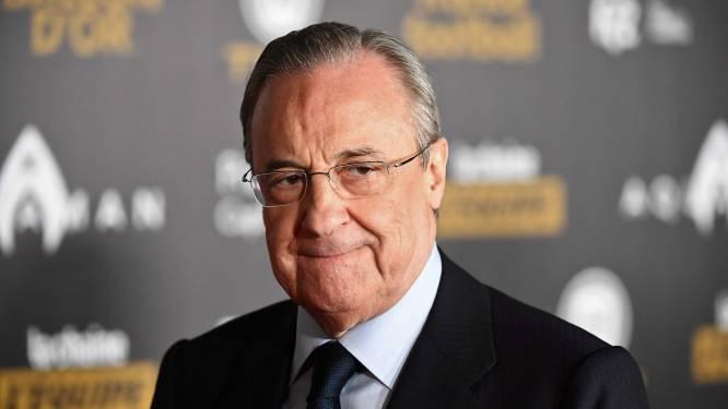 "Real Madrid-voorzitter Pérez verklaart nut van Super League en haalt uit naar UEFA: ""Hun model is absurd"""