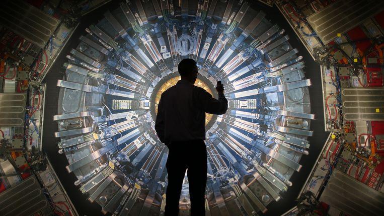In de deeltjesversnellers van het Cern vindt baanbrekende research plaats. Beeld Getty Images