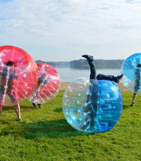 Bubblevoetballen, paintballen en meer: Drimmelense jongeren gaan een actieve zomer tegemoet