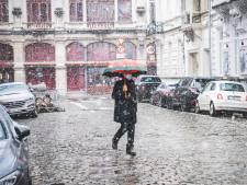 IN BEELD: de eerste sneeuwval in Gent