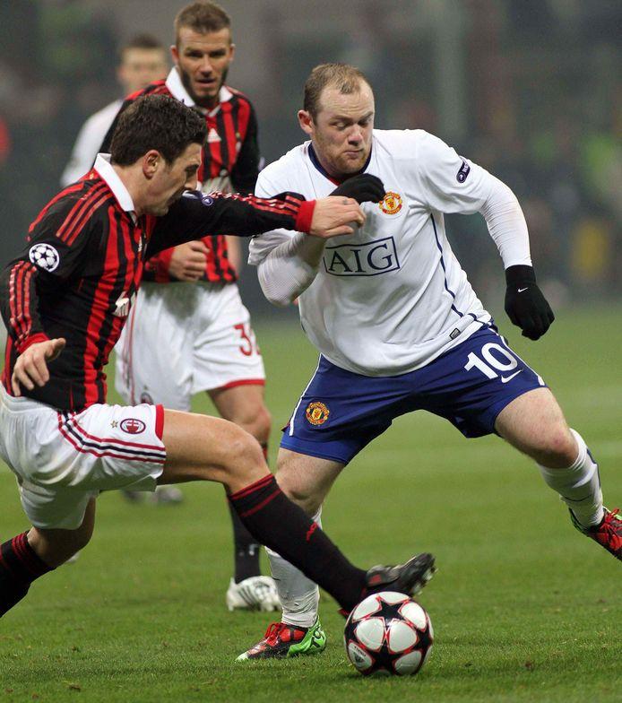 Wayne Rooney schitterde in 2010 tegen AC Milan.