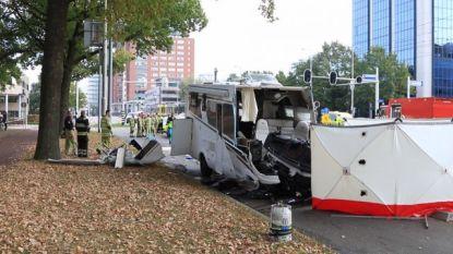 Dode bij botsing tussen tram en mobilhome met Belgische nummerplaat in Utrecht