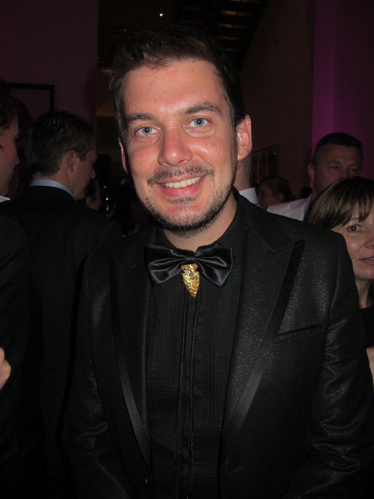 Grappenmaker Ruben Nicolai. Beeld