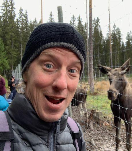 Cabaretier Jasper van Kuijk denkt met heimwee terug aan zijn jaar in Zweden