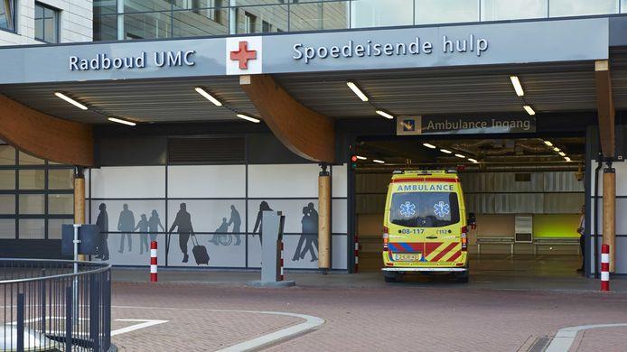 De spoedeisende hulp van het Radboudumc is rustiger dan anders. ANP WIM HOLLEMANS
