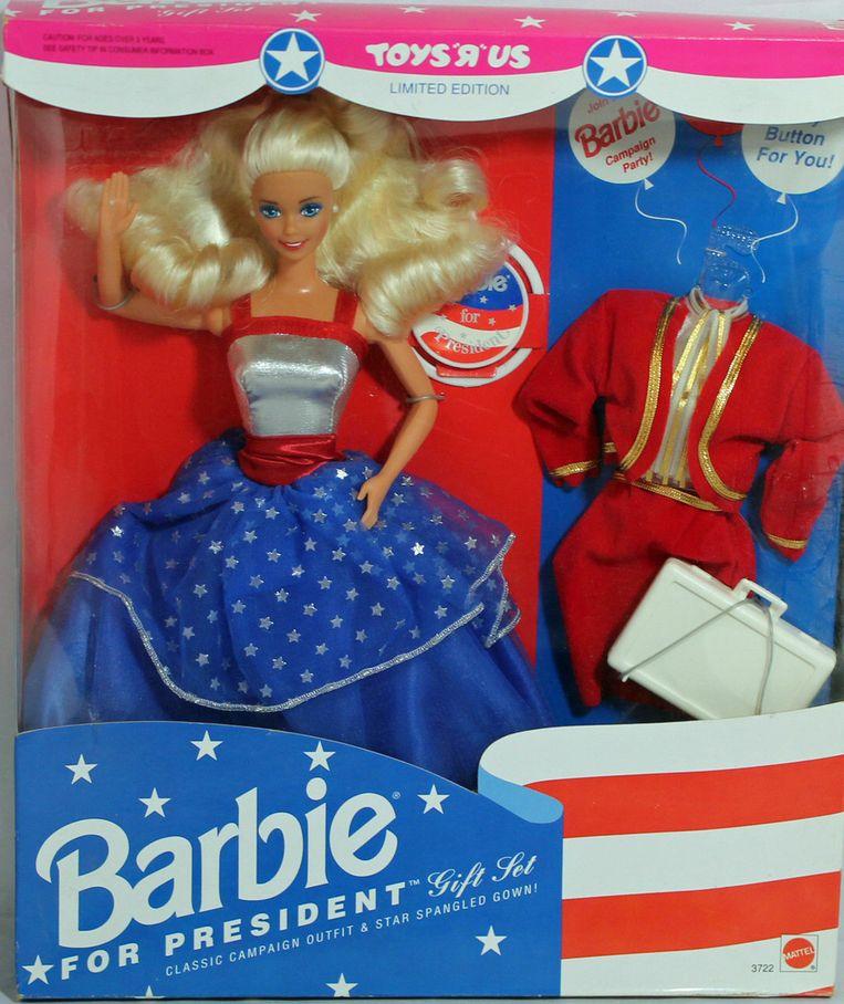 Barbie for President, een pop uit 1991. Beeld RV
